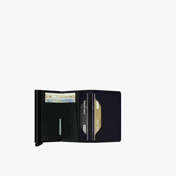 Secrid Slimwallet Black Open