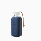 SquireMe Y1 Collection 600ml Glass Water Bottle - Navy