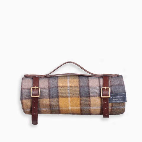 The Tartan Blanket Co Buchanan Natural Tartan