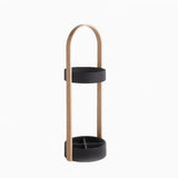Hub Umbrella Stand (Black/Ash)