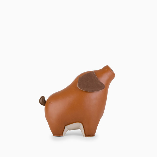 Zuny Bookend - Pig Tan