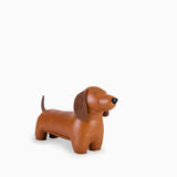 Zuny Bookend - Dachshund Tan