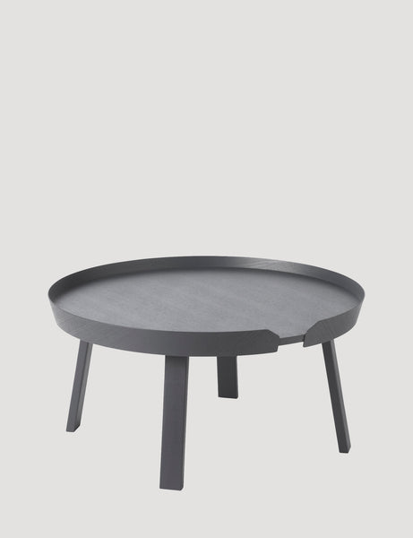 Muuto Around Coffee Table Large Anthracite