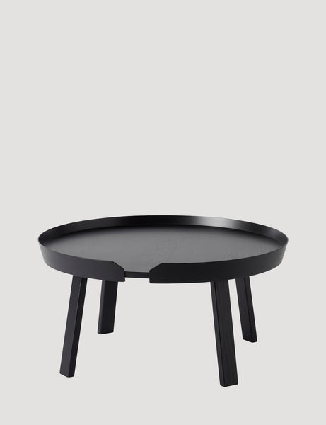 Muuto Around Coffee Table Large Black