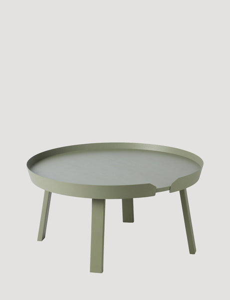 Muuto Around Coffee Table Large Dusty Green