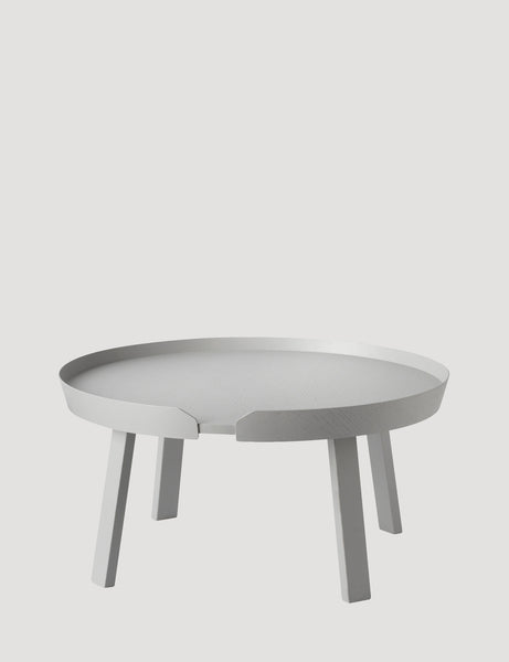 Muuto Around Coffee Table Large Grey
