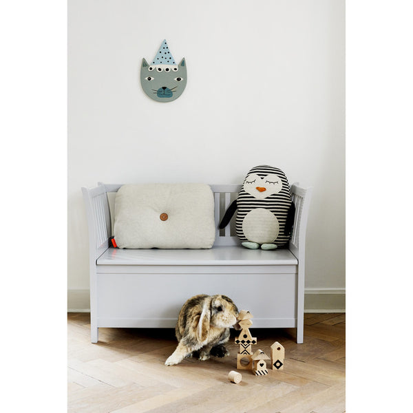 OYOY Pingo Penguin Cushion Display