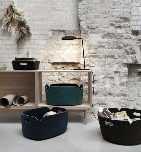 Muuto Restore Basket (Midnight Blue)