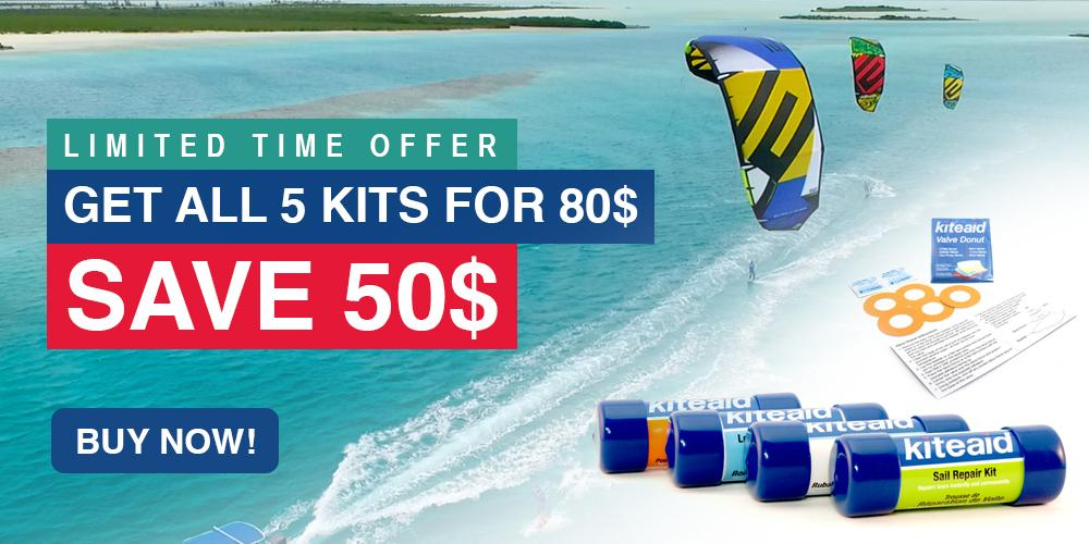 Ultimate best kite repair kit travel pack