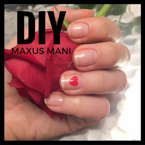 DIY Maxus Mani: our Strengthener plays dress-up, Valentine's Day Edition