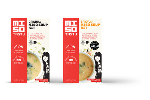Pair of Miso Soup kits - Original and Spicy
