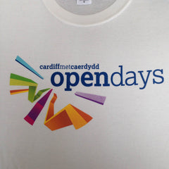Cardiff Embroidery colour t shirt print