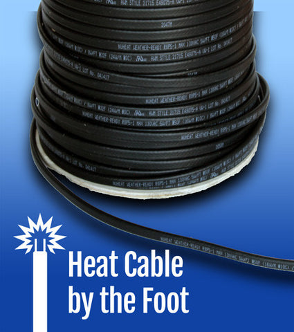 Ice Dam Heat Cables Roof Heat Tape And Gutter Ice Cables