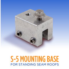 Standing Seam Metal Roof Clip - #S5-SR – The Heat Cable Store