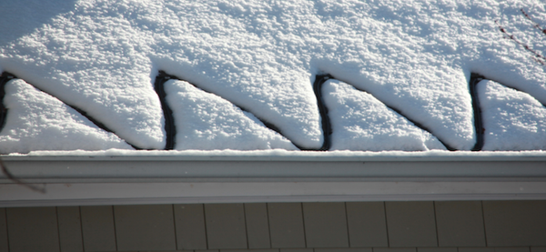 Roof Ice Melt Cable Stop Roof Ice Dam Leaks Use Of Heat