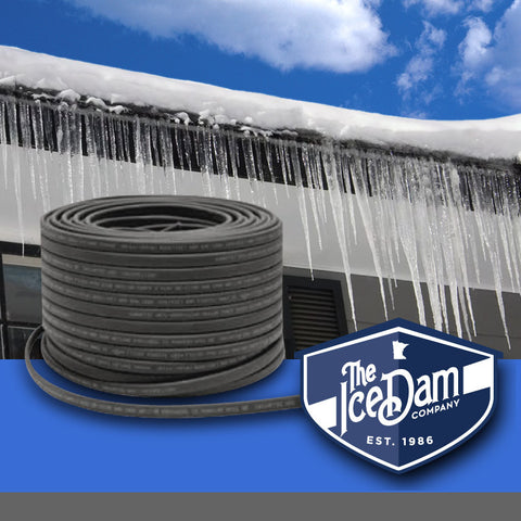 Ice Dam Company Self Regulating Heat Cable