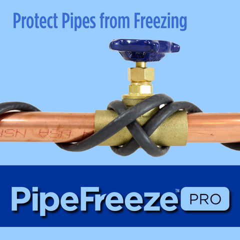Heat Tape for Pipes- PipeFreeze PRO