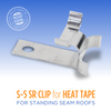 Standing Seam Metal Roof Clip