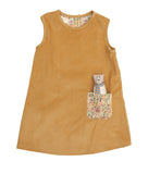 J-Jumper Dress: Forest Animals: Honey Bear