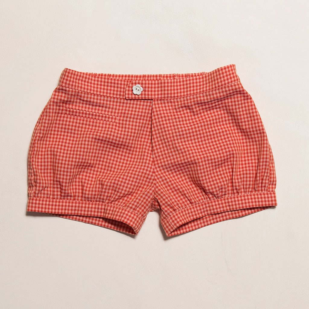The bubble shorts: Classic ginghams