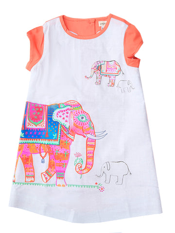 A-Dress: Painted Elephant (INDIA)