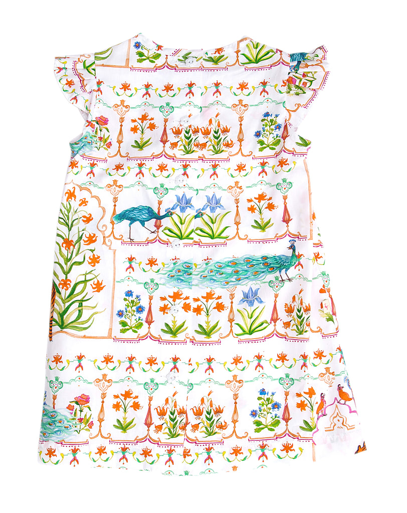 Simple A-Dress: Mughal Garden (INDIA)