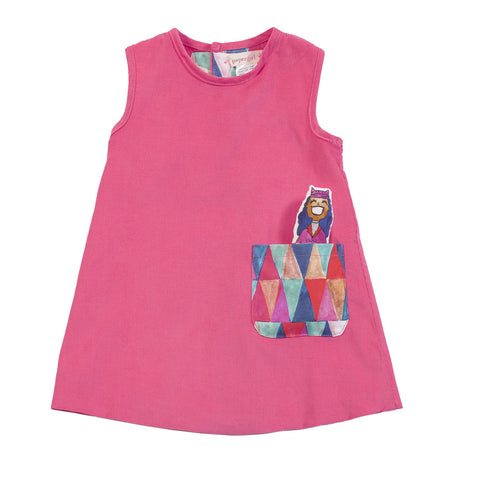 J-Jumper Dress: Circus Ladies in Cotton Candy