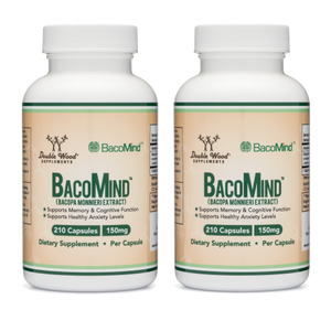 Bacomind Bacopa Extract Double Pack