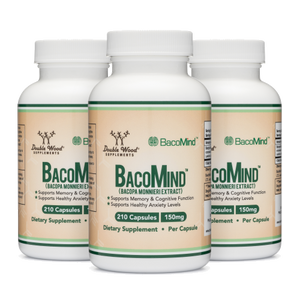 Bacomind Bacopa Extract Triple Pack