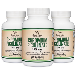 Chromium Picolinate Triple Pack