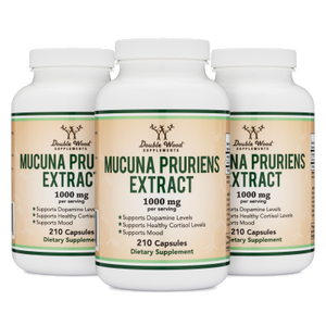 Mucuna Pruriens Extract Triple Pack