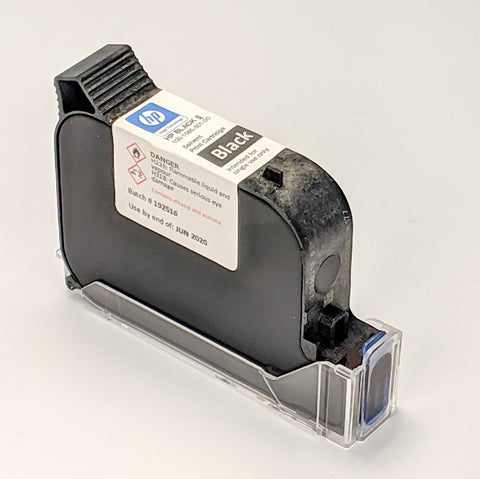 RN Mark RNjet H1 100-1565-801-000, RN HP Ink cartridge TIJ Solvent Black