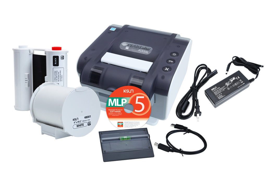 K-Sun PEARLabel 400iXL Desktop Label Printer