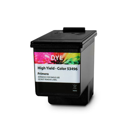 Primera LX600 Ink Cartridges, Tri Color, CYM (Dye)