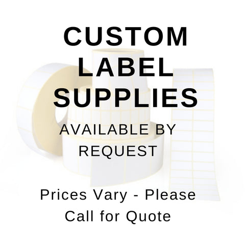 NMS Paper Thermal Transfer Labels, Custom