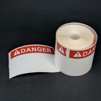 NMS Polyester Labels, Die-Cut, Pre-Printed