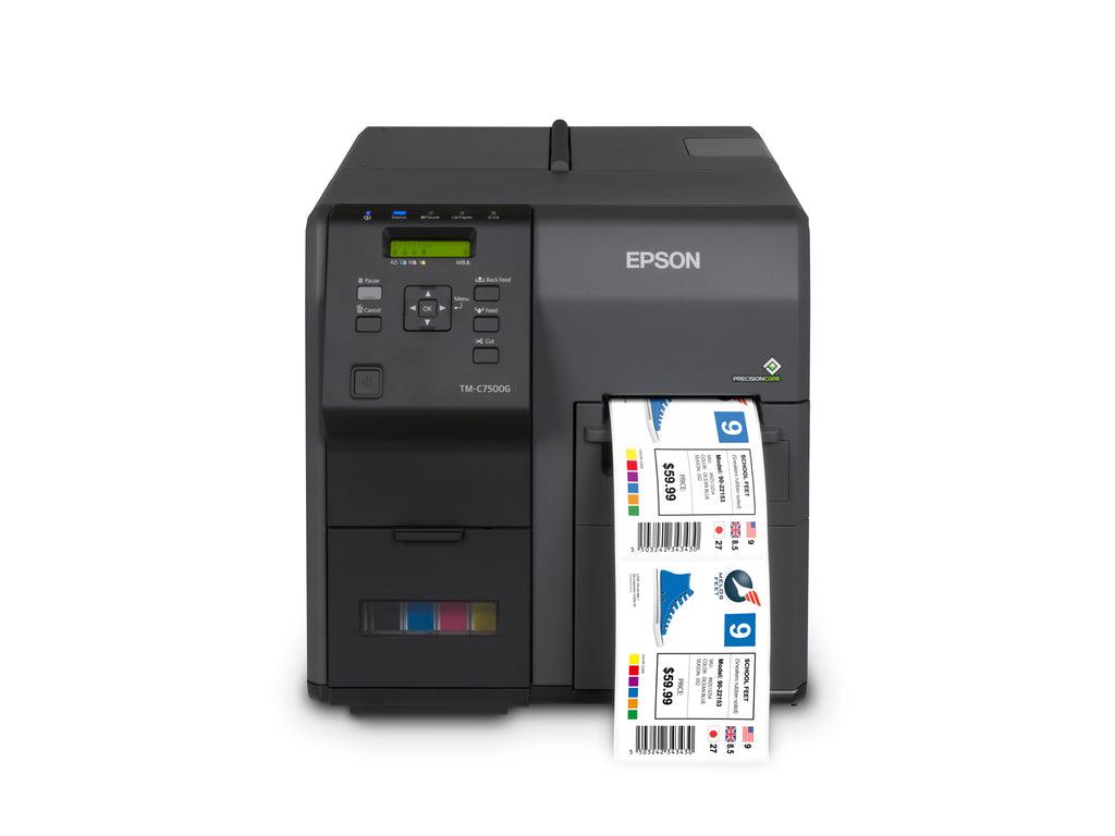 Epson ColorWorks C7500GE (Graphics Edition) Desktop Color Label Printer