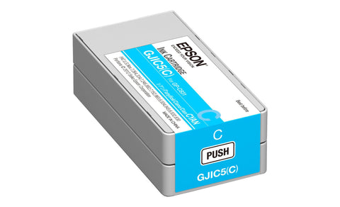Epson Colorworks C831 Ink Cartridges, Cyan