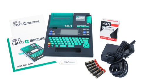 K-Sun 2020LSTB-PCD Portable Label Printer (Green Machine PC)
