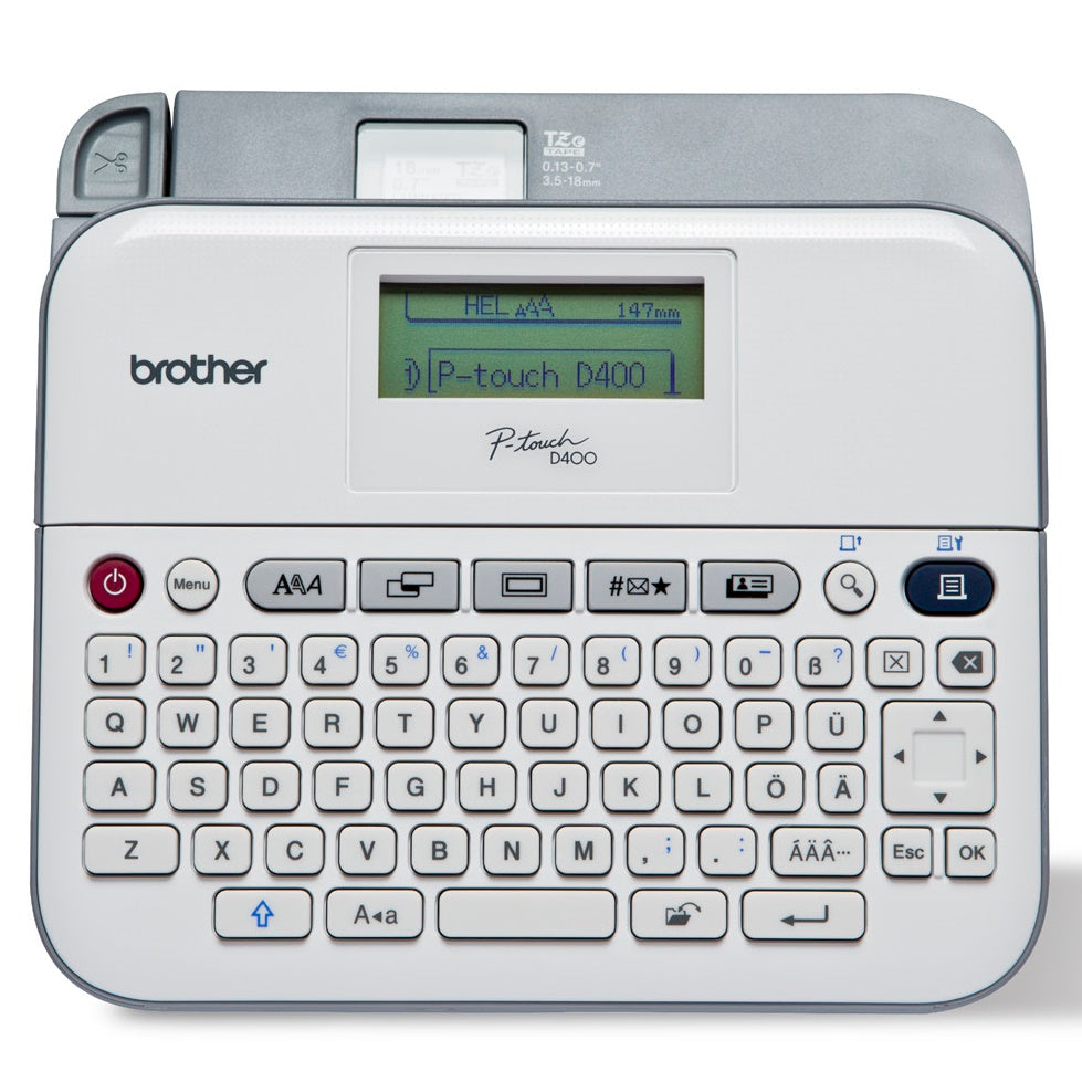 Brother PTD400AD Portable Label Printer