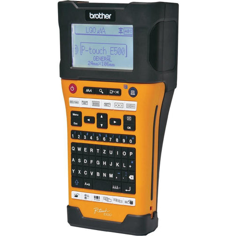 Brother PTE500VP Portable Label Printer