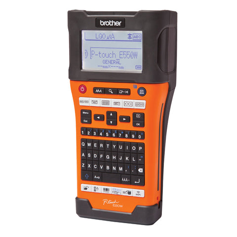 Brother PTE550WVP Portable Label Printer
