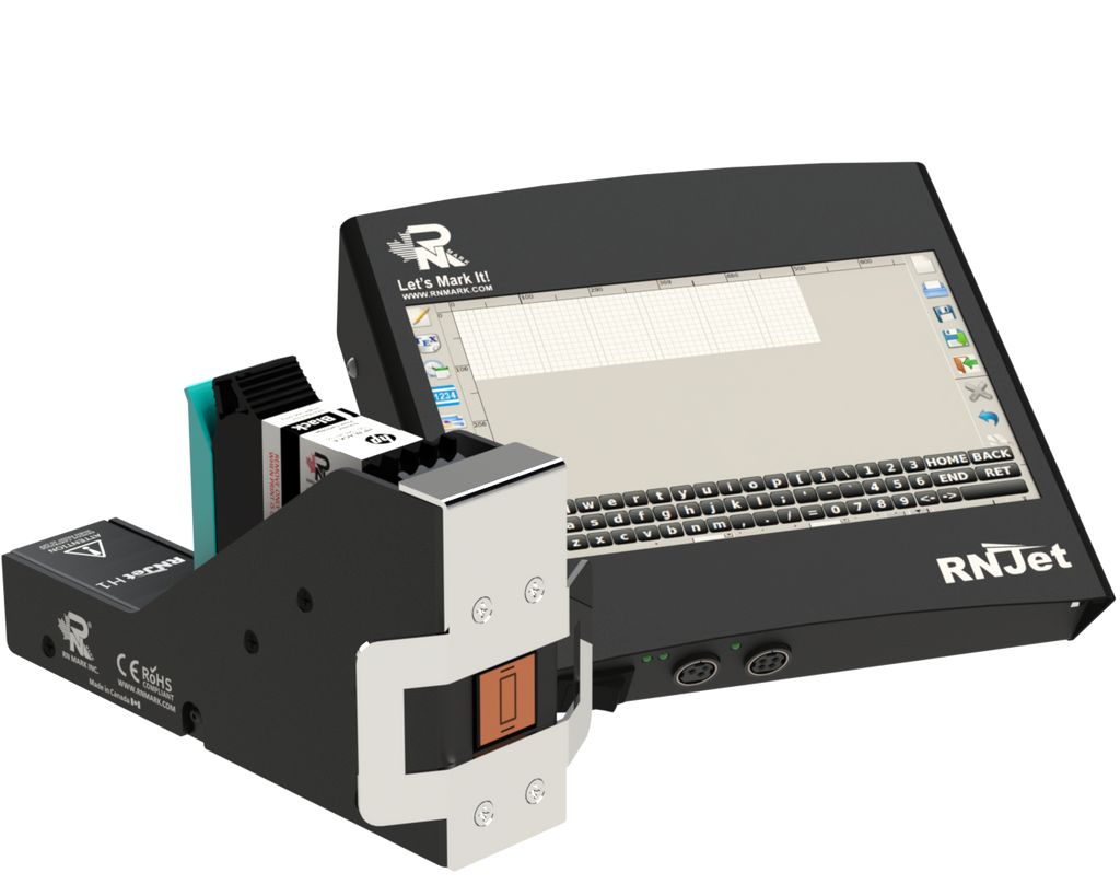 RN Mark RNJet H1 Inline Inkjet Printer Kit