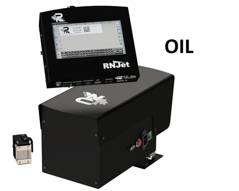 RN Mark RNJet 100+ OIL Inline Inkjet Printer Kit