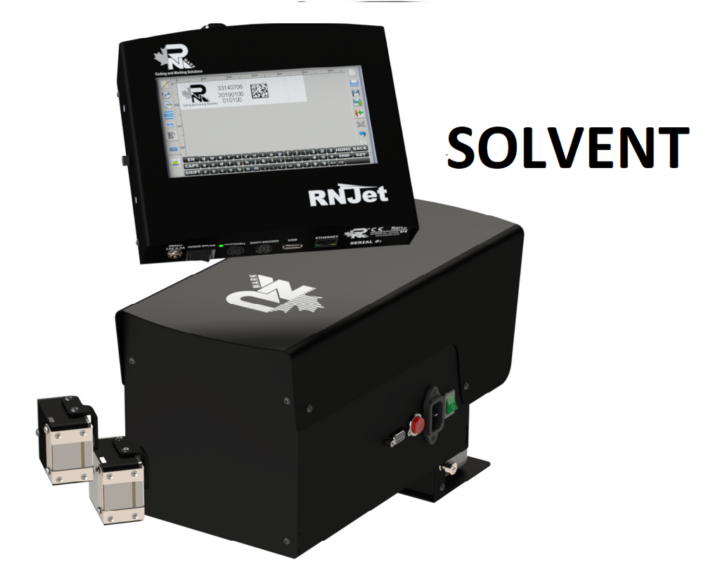 RN Mark RNJet 200+ SOLVENT Inline Inkjet Printer Kit