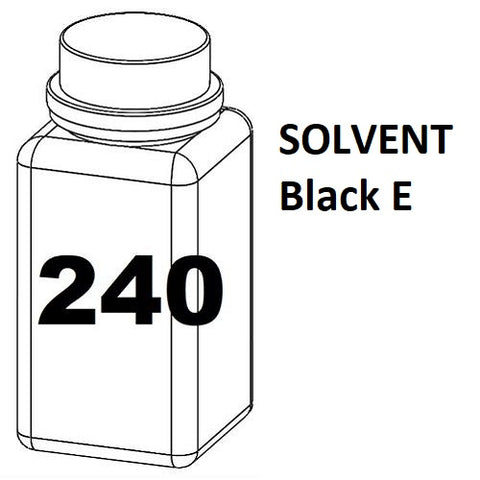 RN Mark RNjet bulk ink bottle 240ml SOLVENT Black E