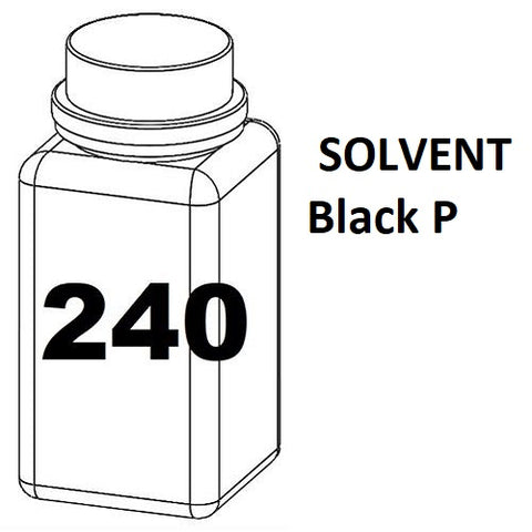 RN Mark RNjet bulk ink bottle 240ml SOLVENT Black P