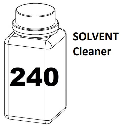 RN Mark RNjet bulk ink bottle 240ml SOLVENT Cleaner
