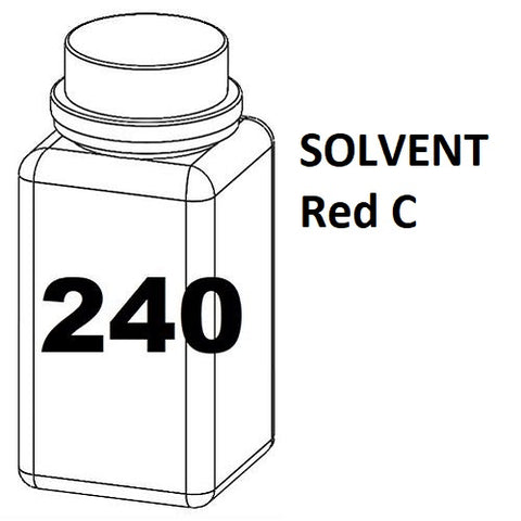 RN Mark RNjet bulk ink bottle 240ml SOLVENT Red C