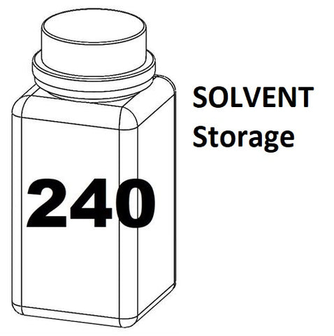 RN Mark RNjet bulk ink bottle 240ml SOLVENT Storage